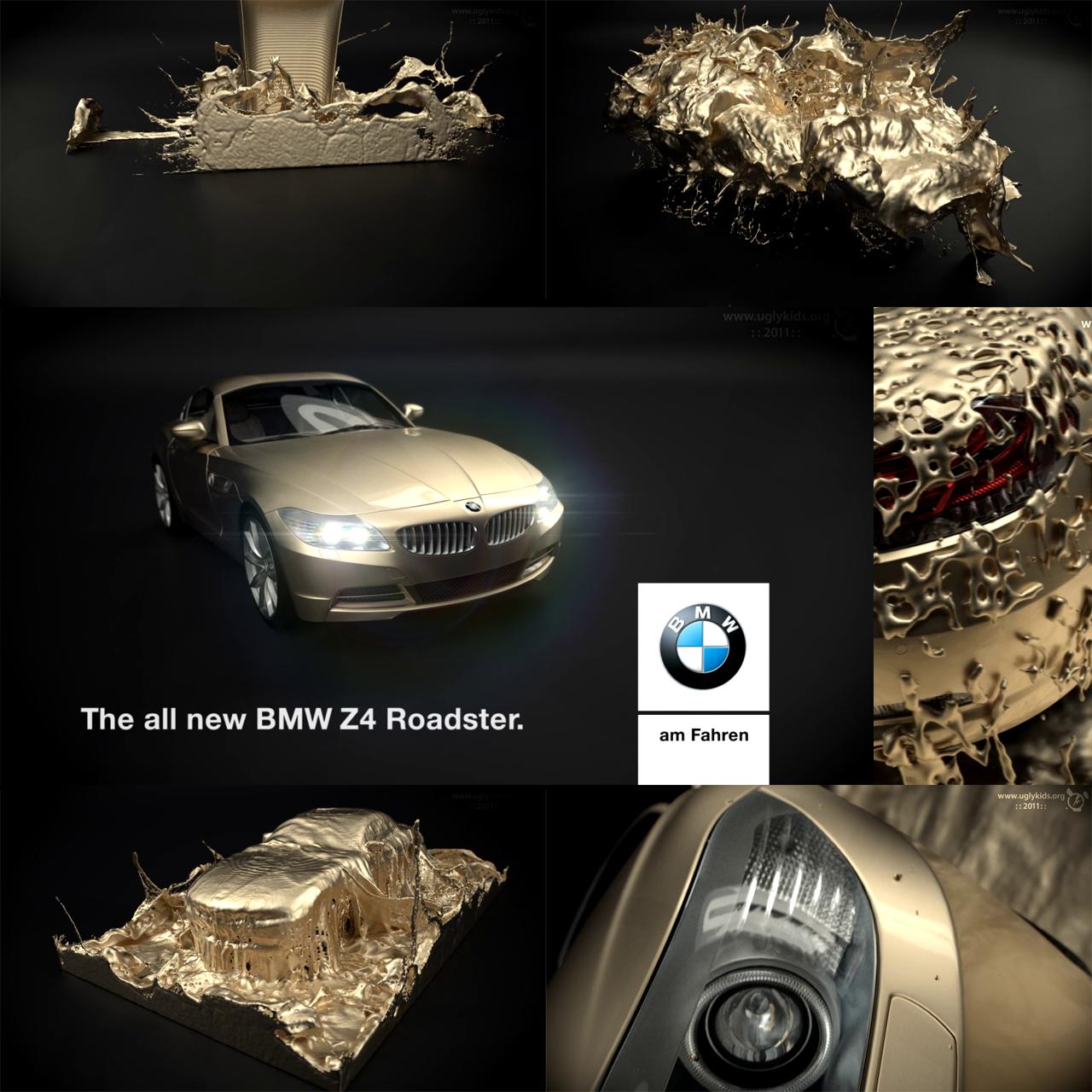 Bmw Z4 Forum: RealFlow 5 : : Maxwell Render : : TVC Layout BMW Z4